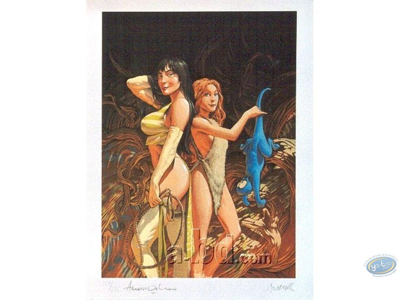 Affiche Offset, Trolls de Troy : Ses héroïnes
