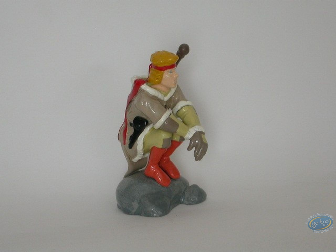 Figurine métal, Neige : Neige sur le rocher