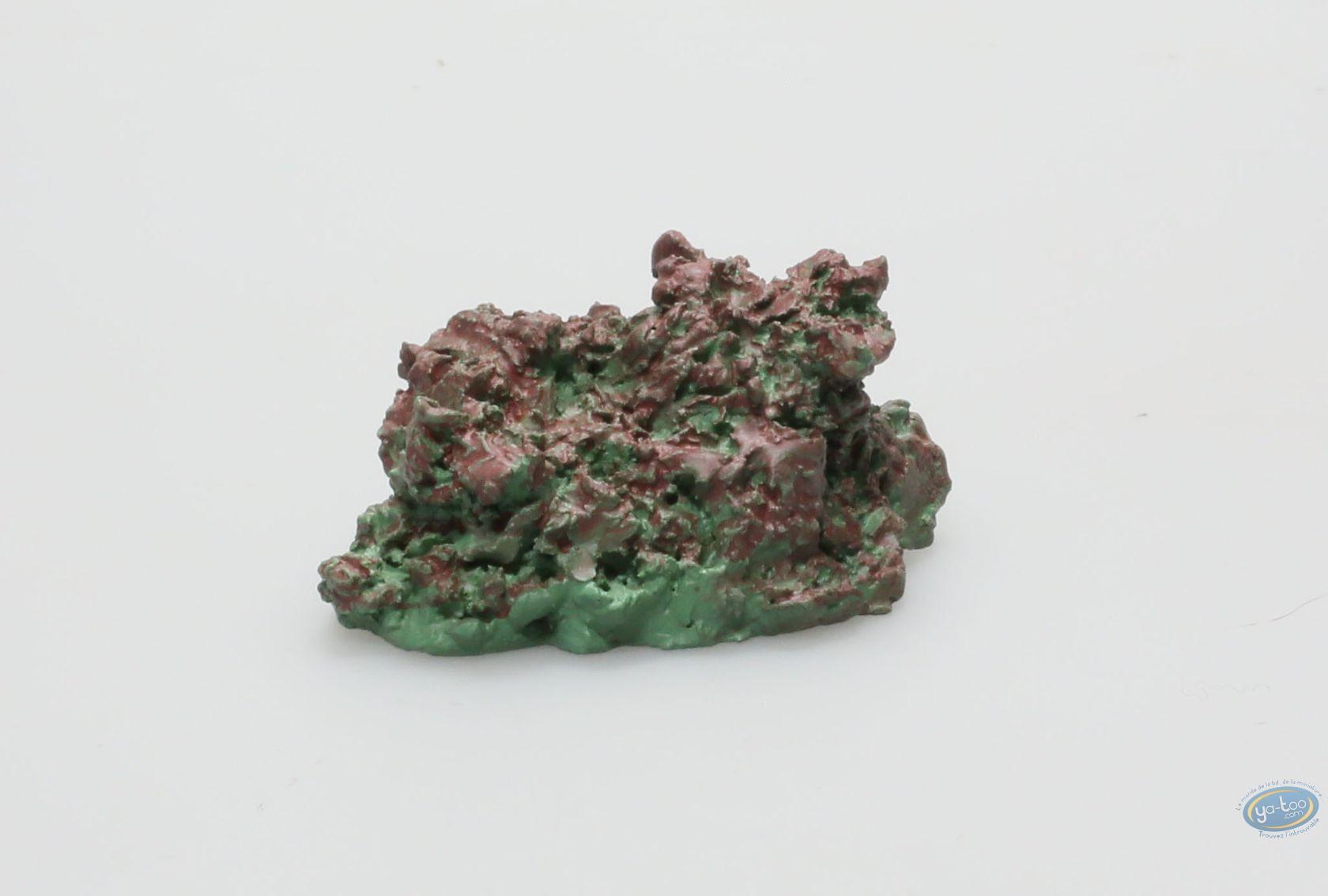 Figurine métal, Tuniques Bleues (Les) : Le Camp - Grand buisson coloris foncé
