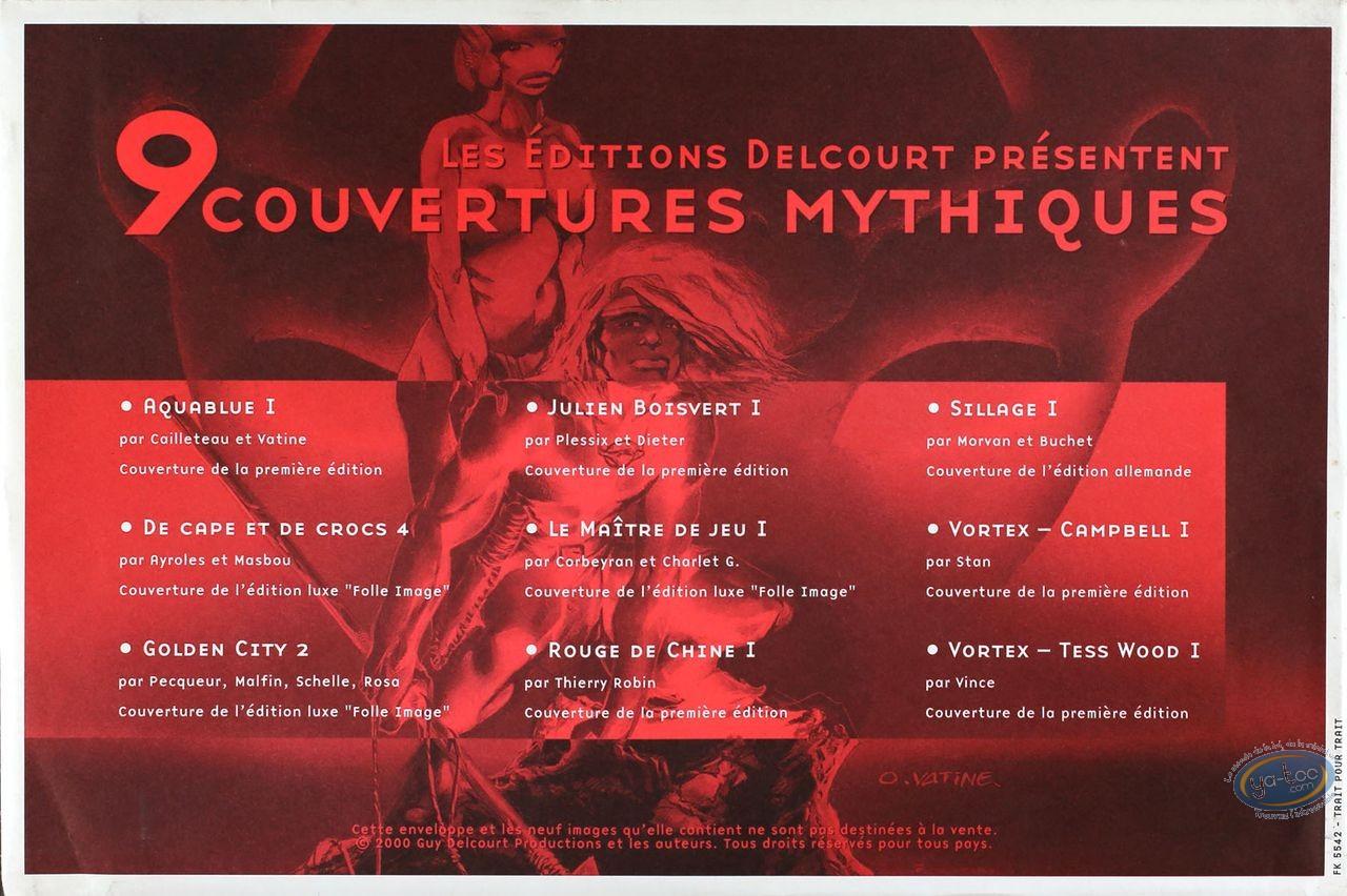 Ex-libris Offset, 9 couvertures mythiques