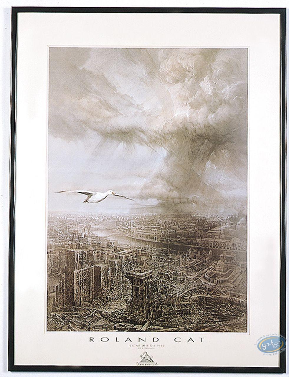 Affiche Offset, Roland Cat : Oie