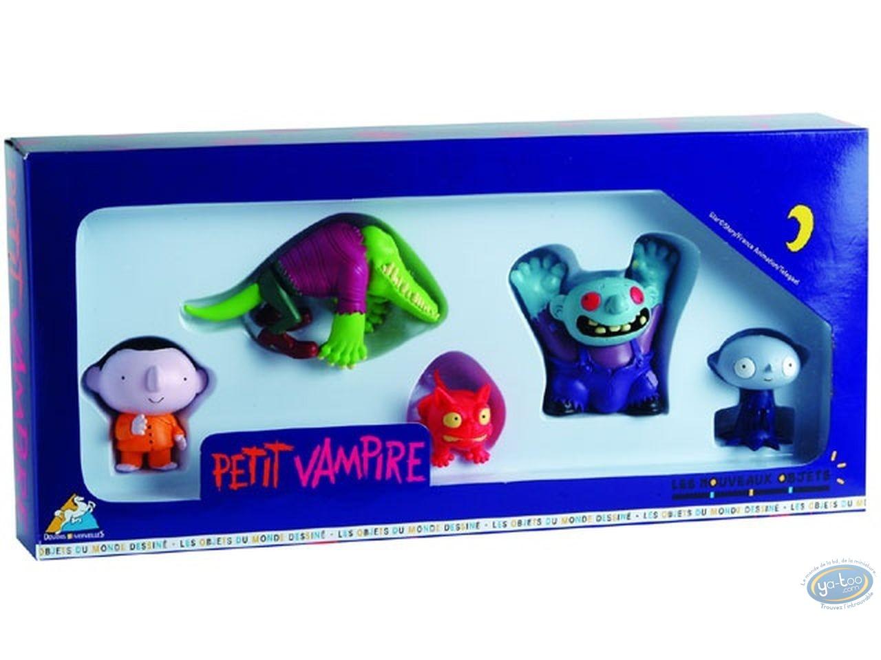 Figurine plastique, Petit Vampire : Coffret 5 figurines