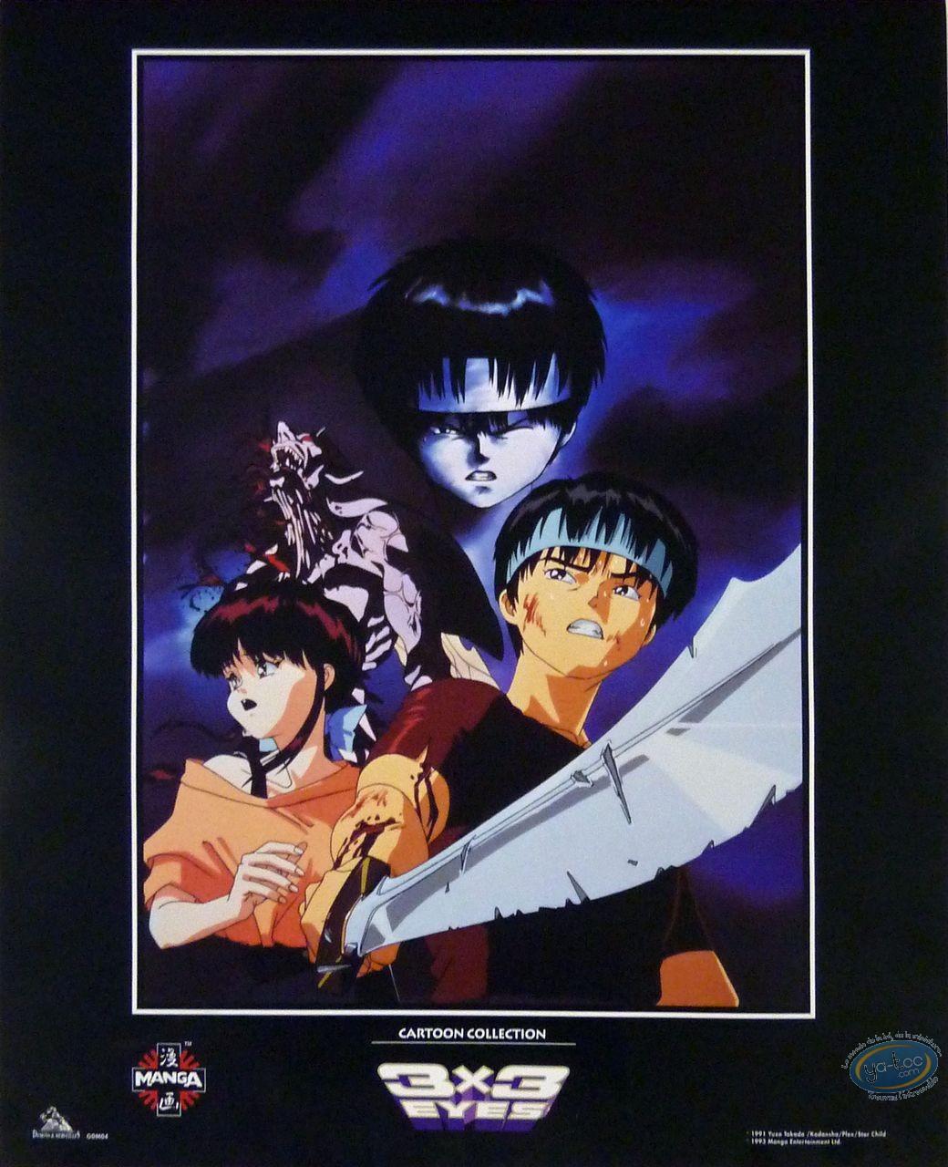Affiche Offset, 3X3 Eyes : Takada, 3x3 Eyes