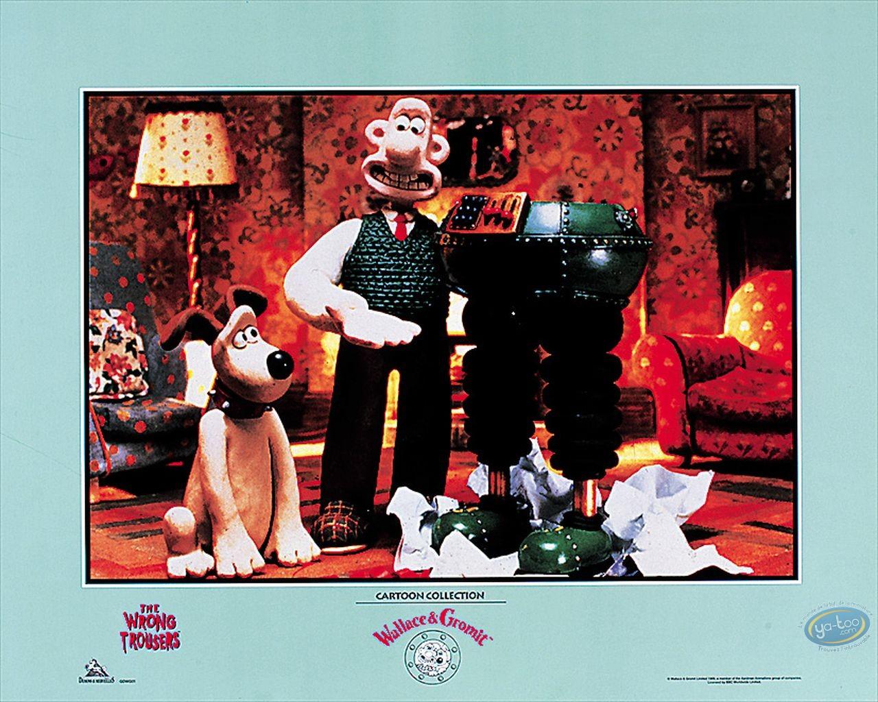 Affiche Offset, Wallace et Gromit : Pantalon magique