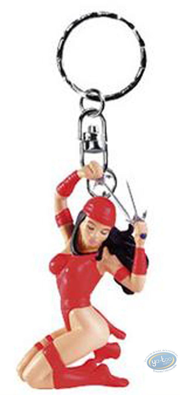 Figurine plastique, Elektra : Porte-clef Elektra