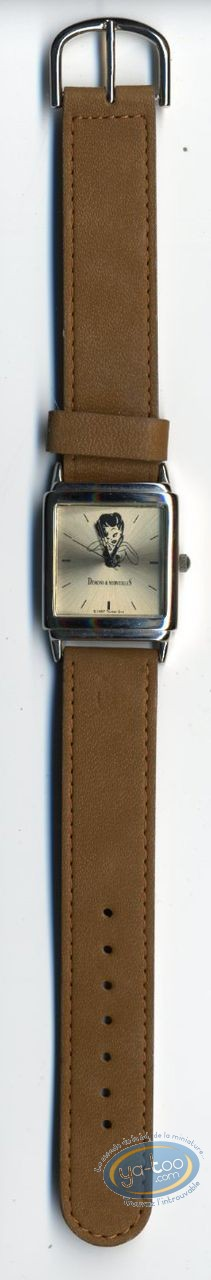 Horlogerie, Pin-Up (La) : Montre, Tex Avery Pin-Up bracelet cuir