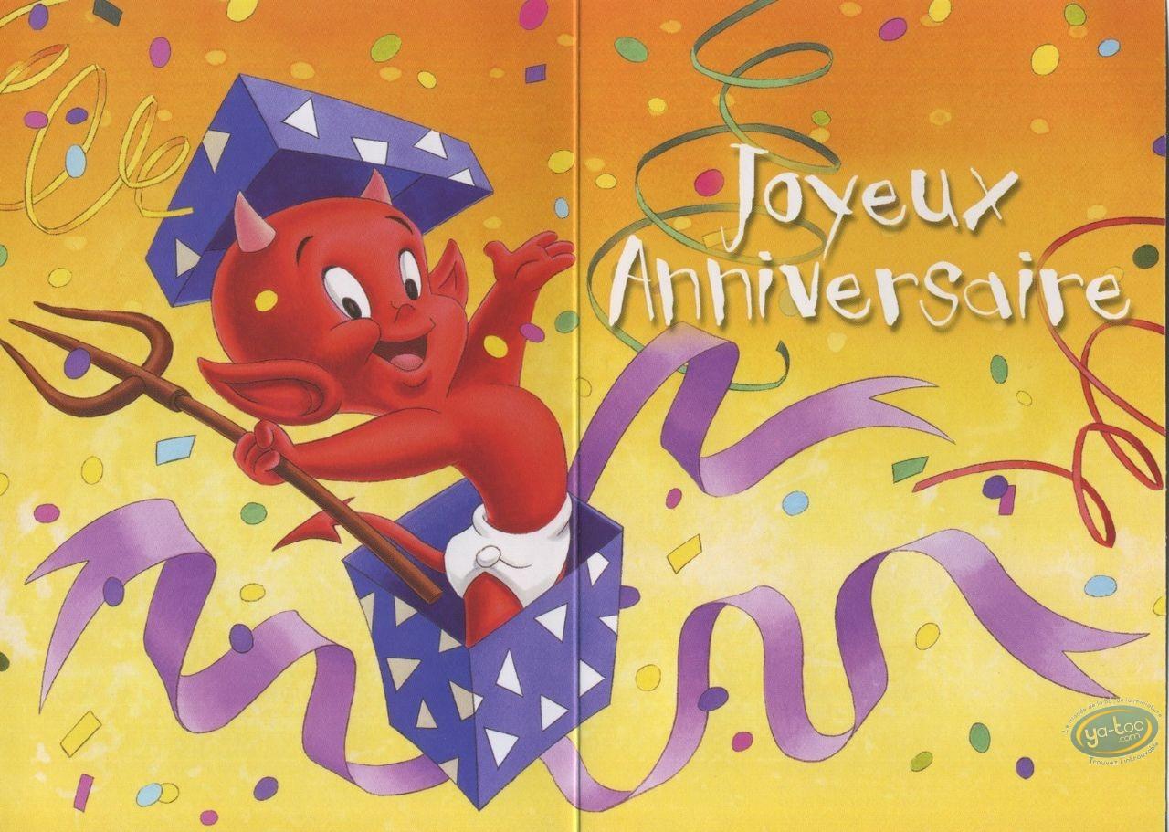 Carte postale, Hot Stuff : Surprise! Joyeux anniversaire