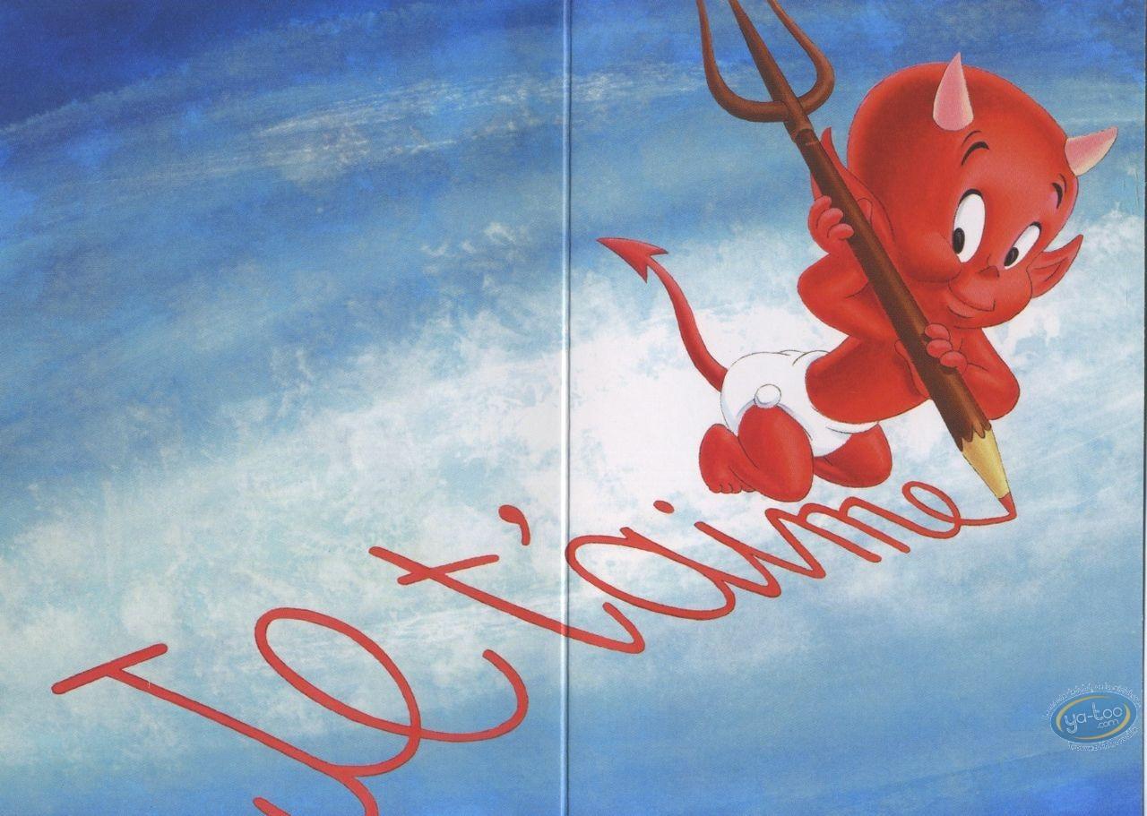 Carte postale, Hot Stuff : Je voulais te dire que... Je t'aime