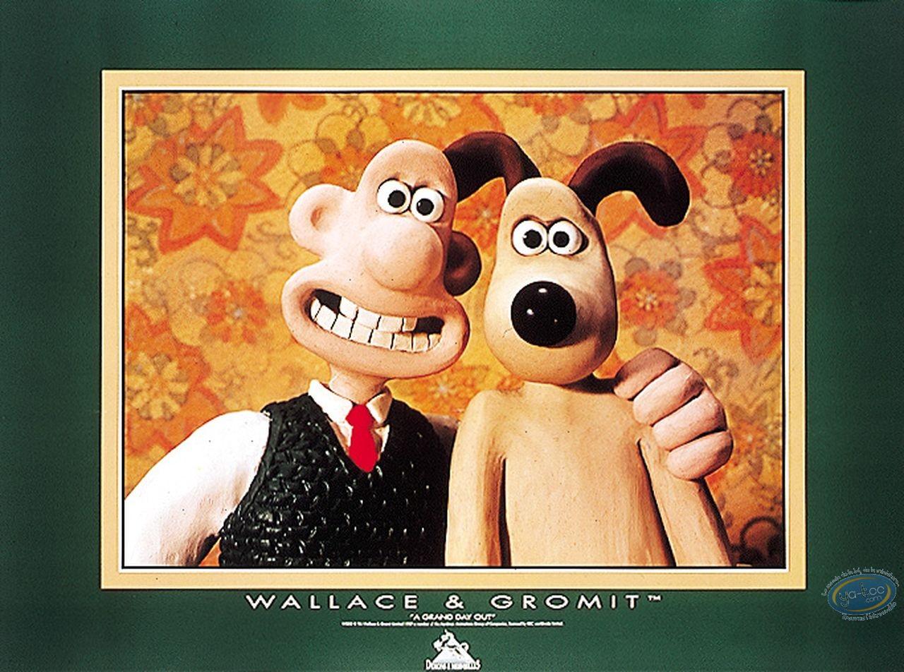 Affiche Offset, Wallace et Gromit : Photo de famille