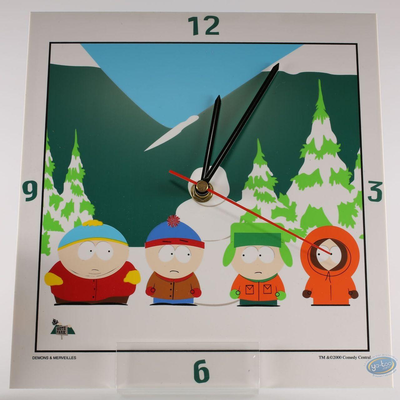 Horlogerie, South Park : Horloge, South Park