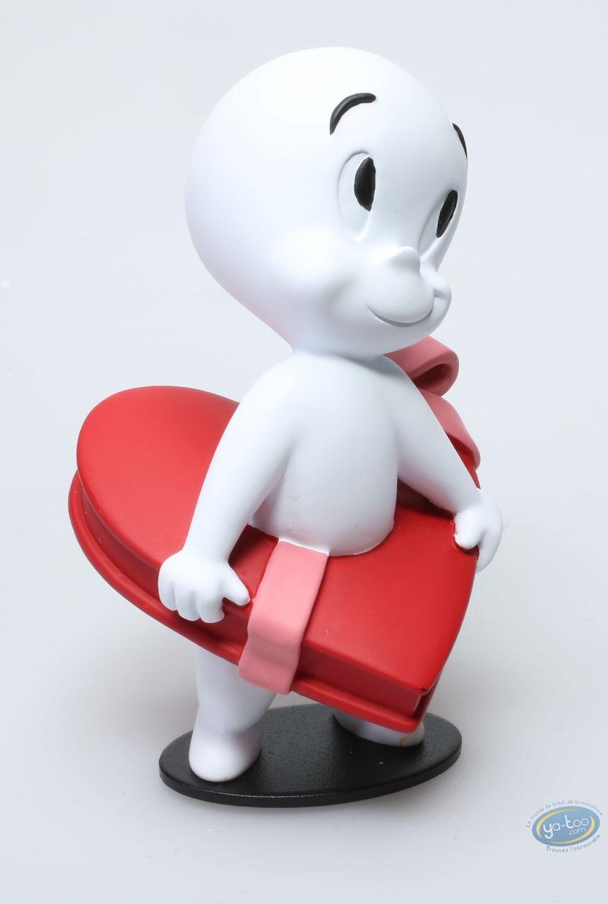 Statuette résine, Casper : Casper coeur