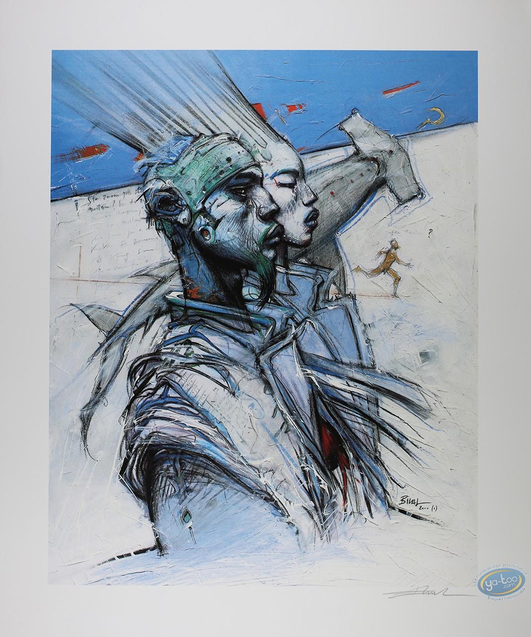 Affiche Sérigraphie, Bilal : Bilal, Enkibilaldeuxmilleun