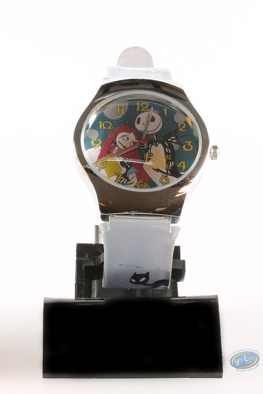 Horlogerie, Etrange Noël de Mr. Jack (L') : Montre,  Bracelet plastique gris