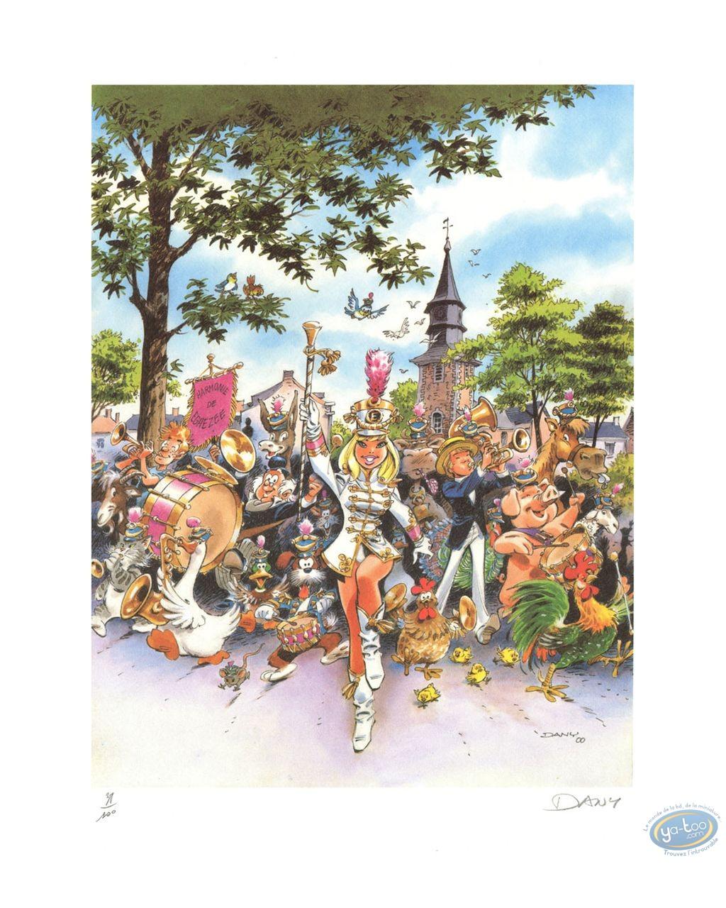 Affiche Offset, Olivier Rameau : Majorette