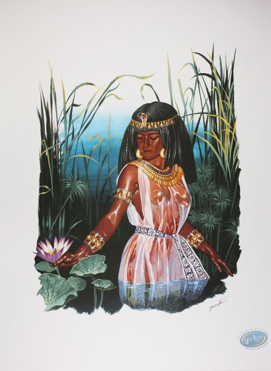 Affiche Offset, Princesse Maya : Femme Maya