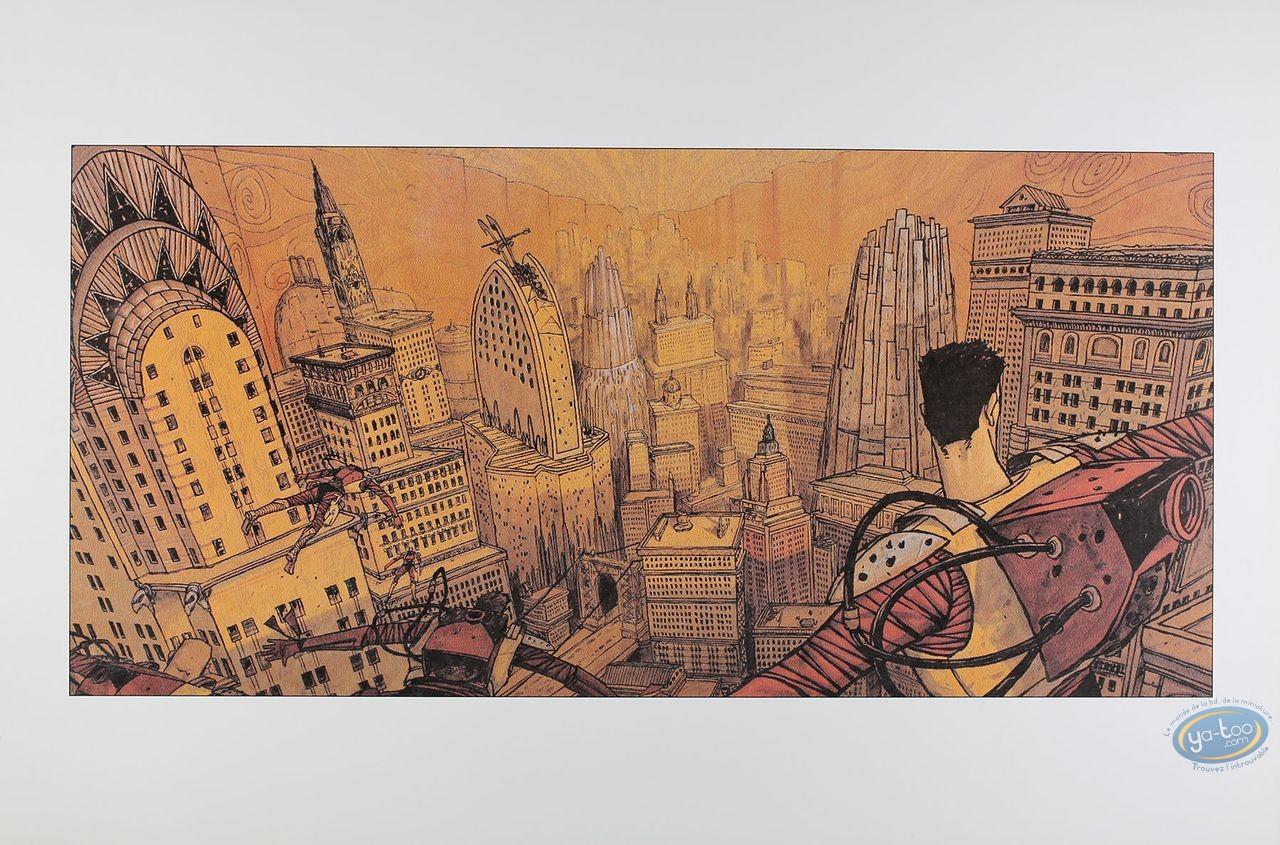 Affiche Offset, Naciré et les Machines : Ville