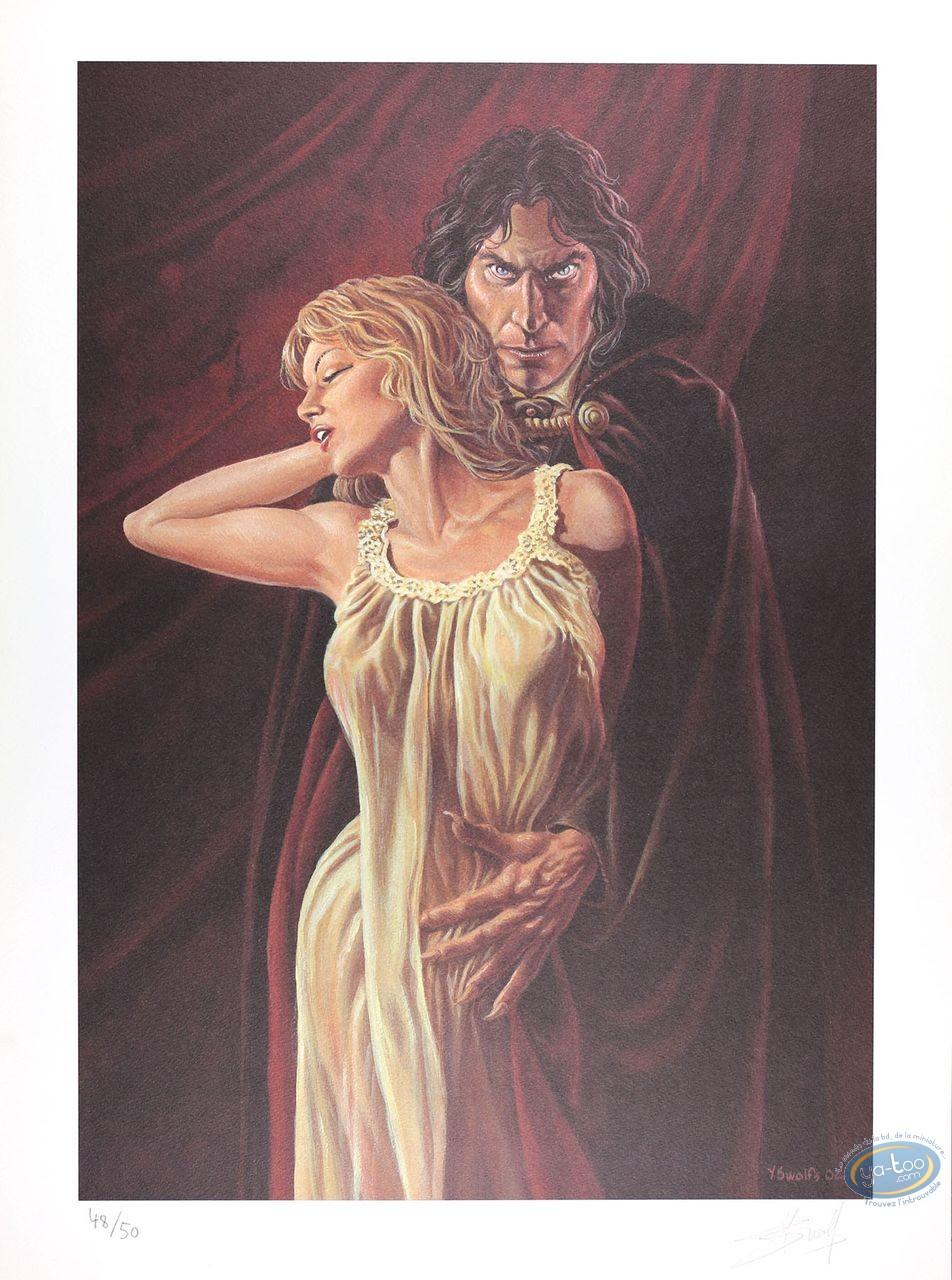 Affiche Offset, Prince de la Nuit (Le) : Kergan et sa proie (mat)
