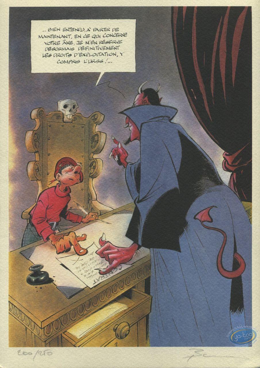 Ex-libris Offset, Mic Mac Adam : Pacte avec le Diable