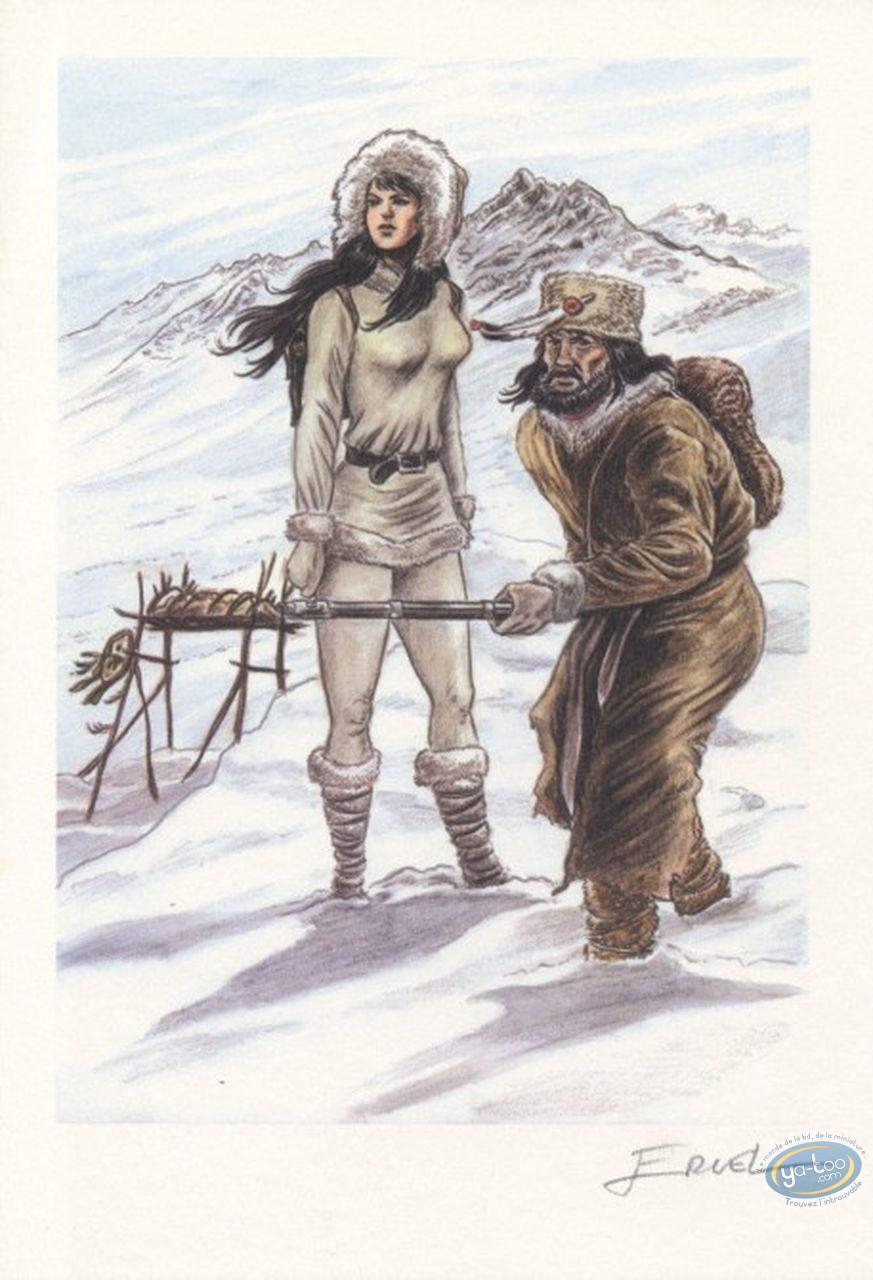 Ex-libris Offset, Pionniers du Nouveau Monde (Les) : Hiver