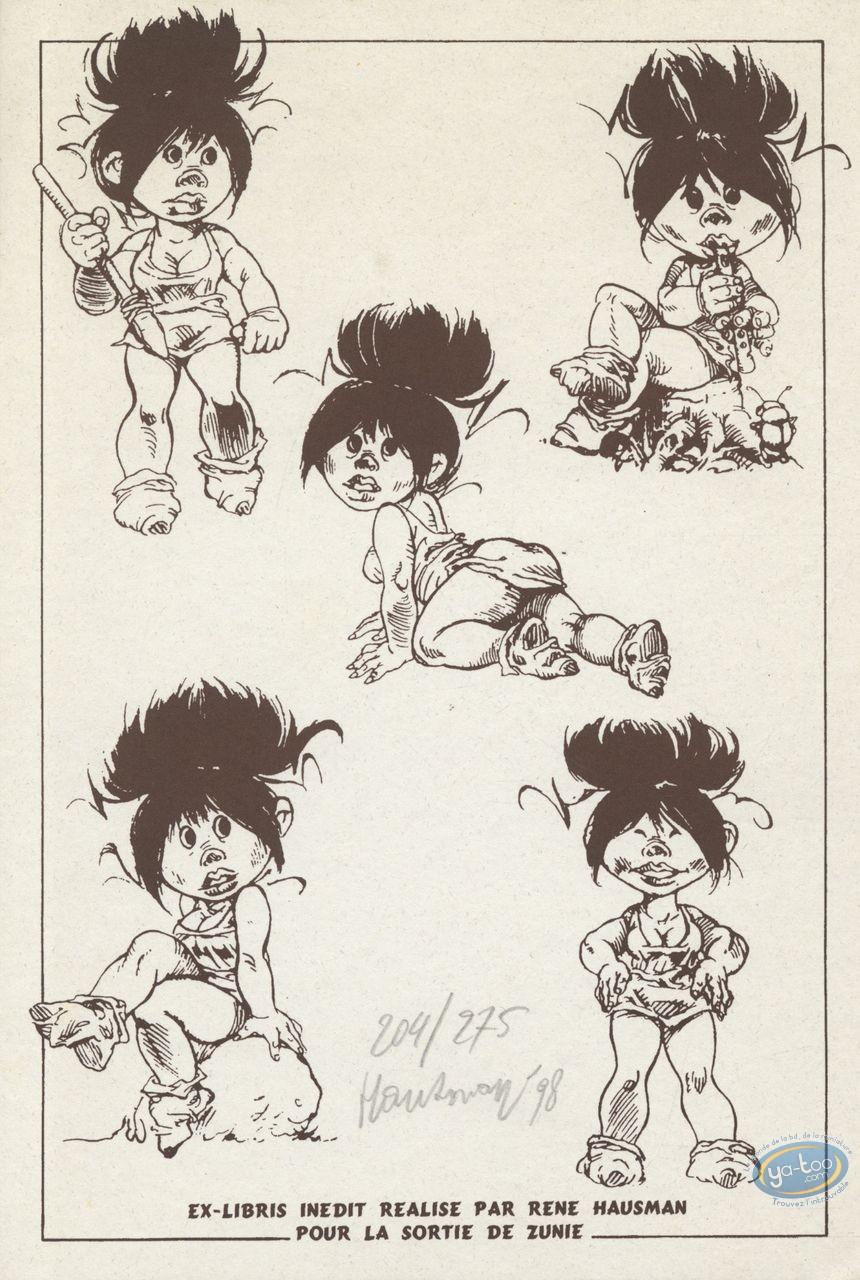 Ex-libris Offset, Saki et Zunie : 5 Zunie