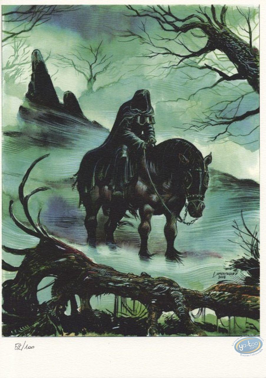 Ex-libris Offset, Le cavalier noir