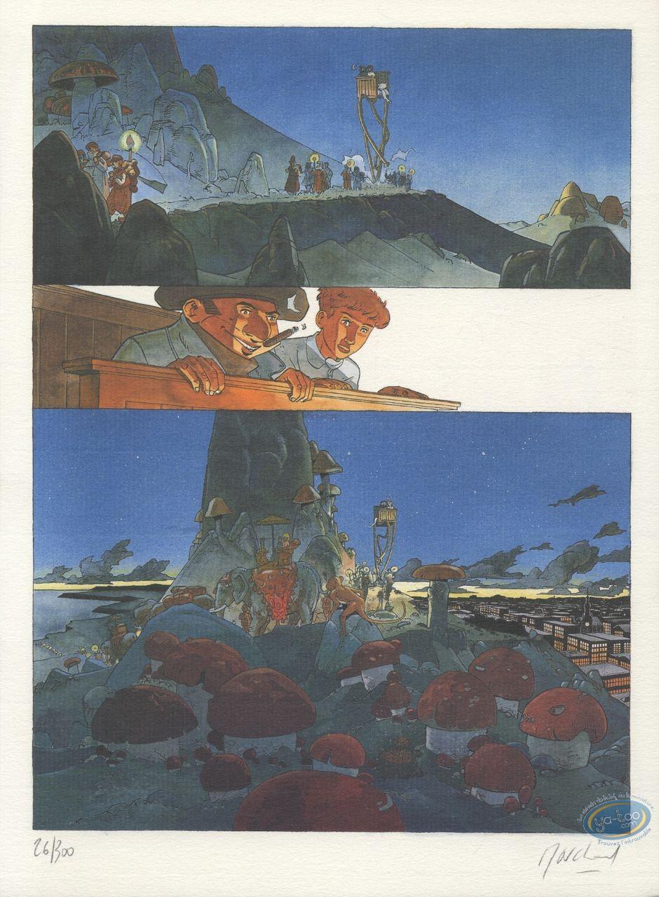 Ex-libris Offset, Little Nemo : Planche