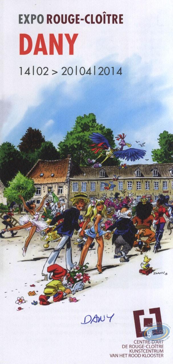 Carte postale, Olivier Rameau : Dany expo Rouge-Cloître 2014