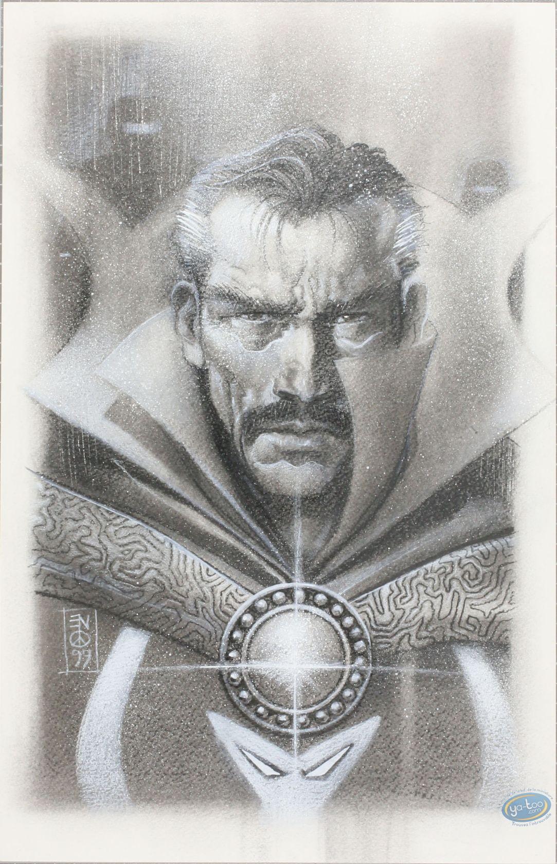 Originaux, X-Men : Eddy Newell - Docteur Strange (dessin original)