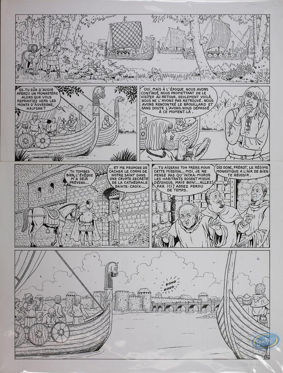 Originaux, Svein : Moi, Svein, compagnon d' Hasting, Planche 16