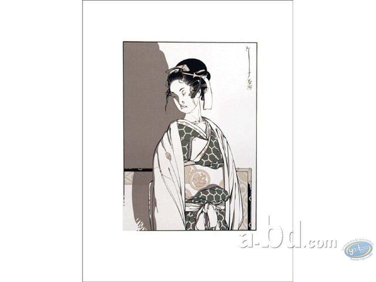 Affiche Sérigraphie, Kogaratsu : Geisha