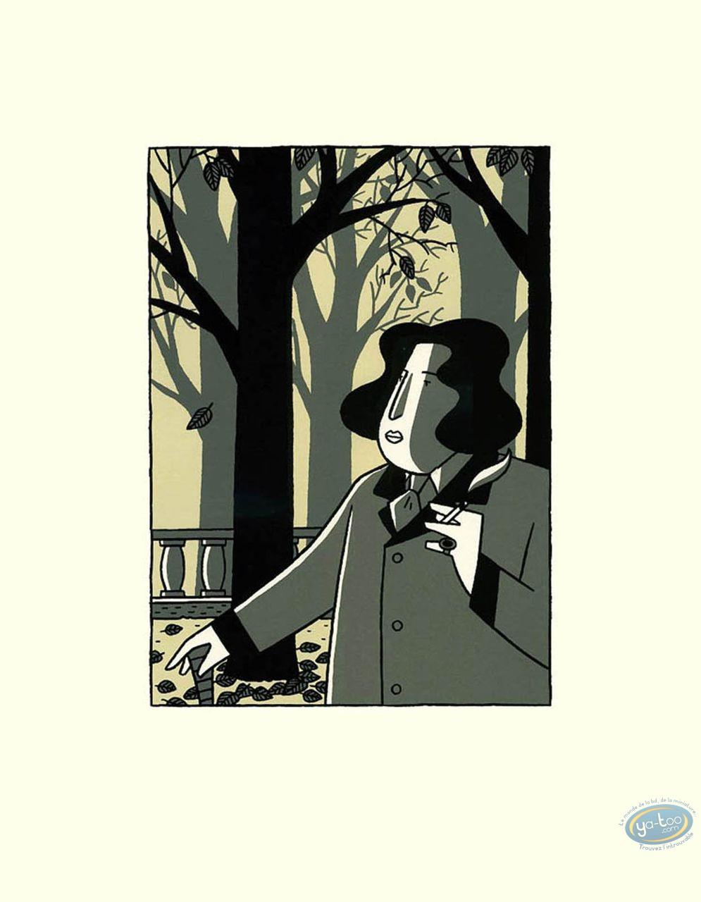 Affiche Sérigraphie, Monsieur Oscar : Monsieur Oscar