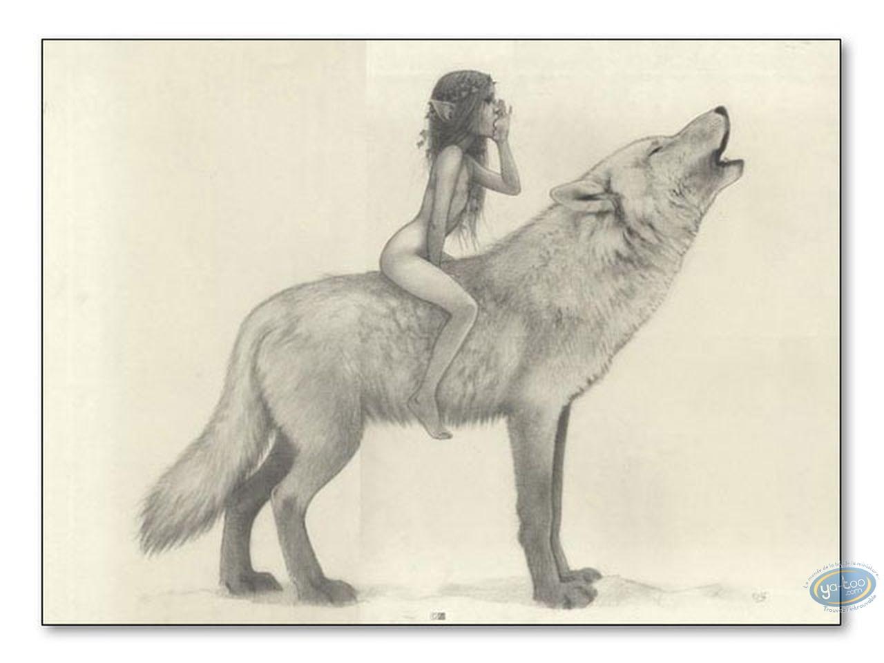 Affiche Offset, Féerie : Fée et loup