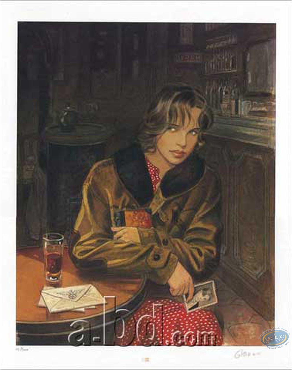 Affiche Offset, Sursis (Le) : Cécile au Café
