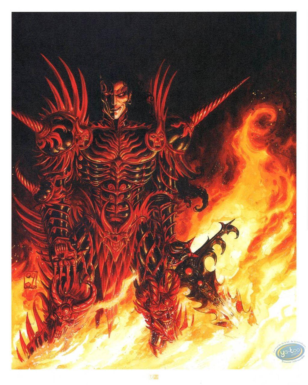Affiche Offset, Démon guerrier