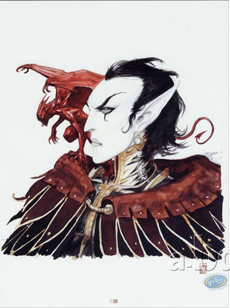 Affiche Offset, Féerie : Elfe et diable