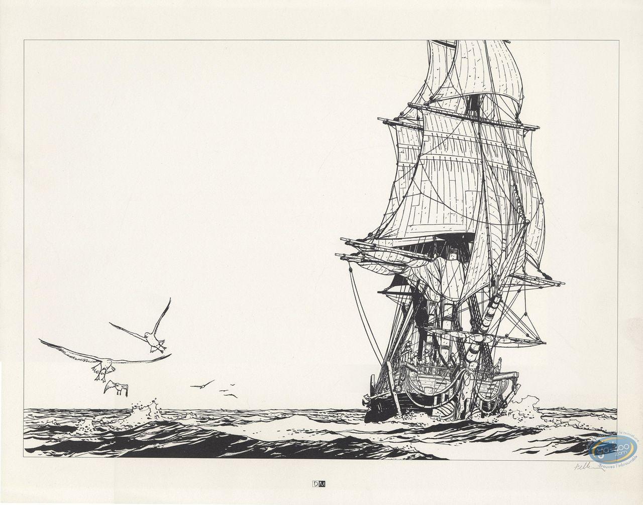 Affiche Offset, Epervier (L') : La Méduse