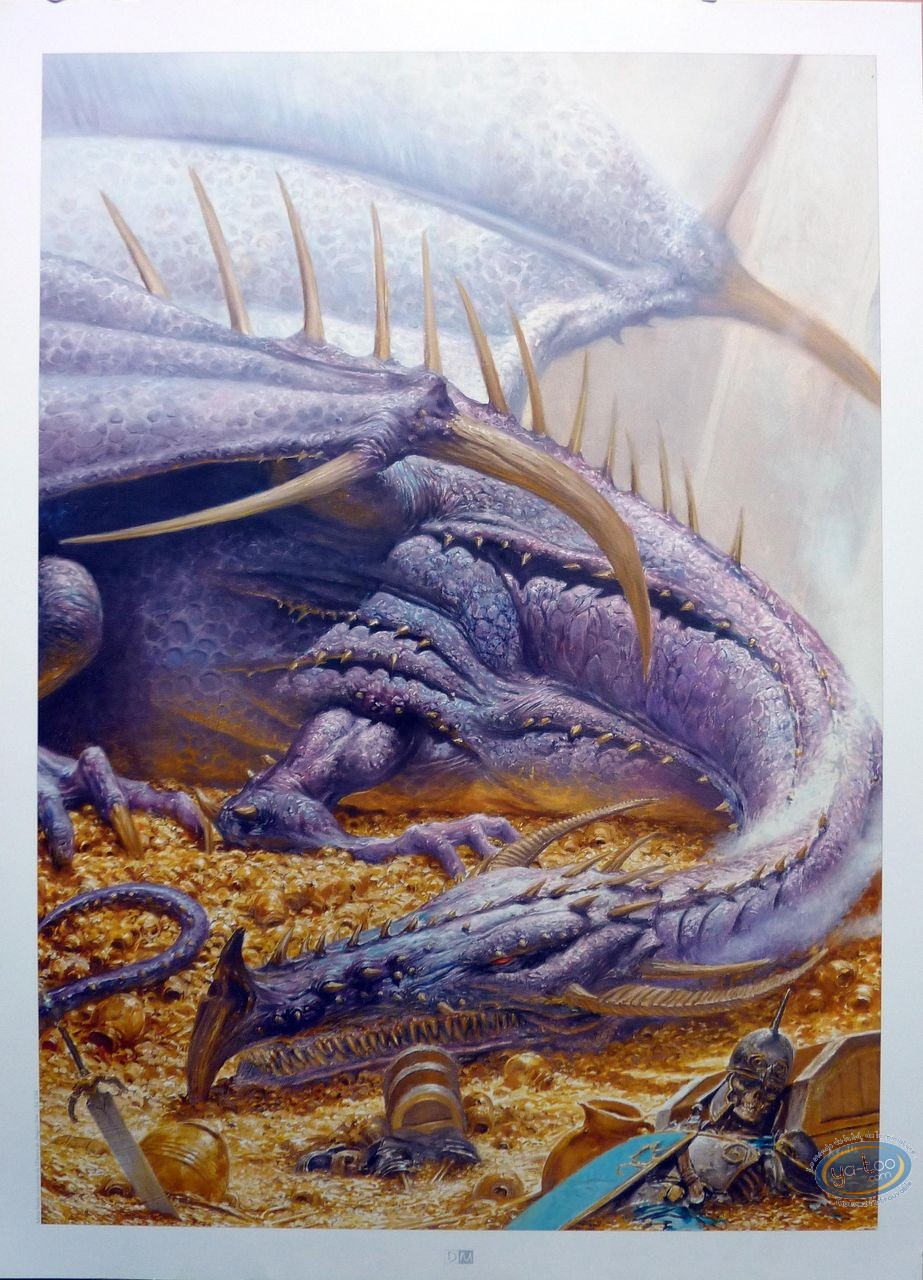 Affiche Offset, Univers des Dragons (L') : Dragon