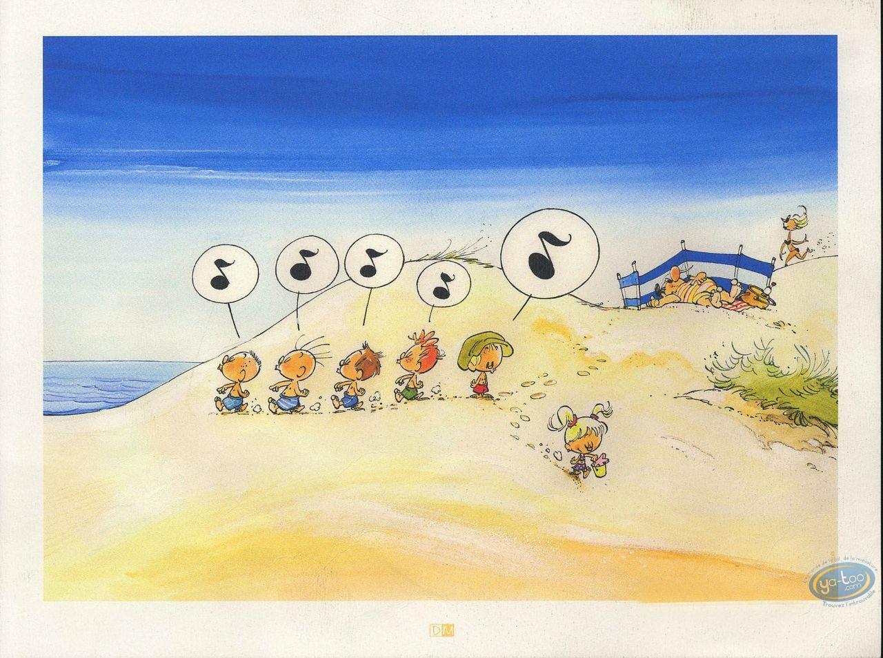 Ex-libris Offset, Jojo : La plage