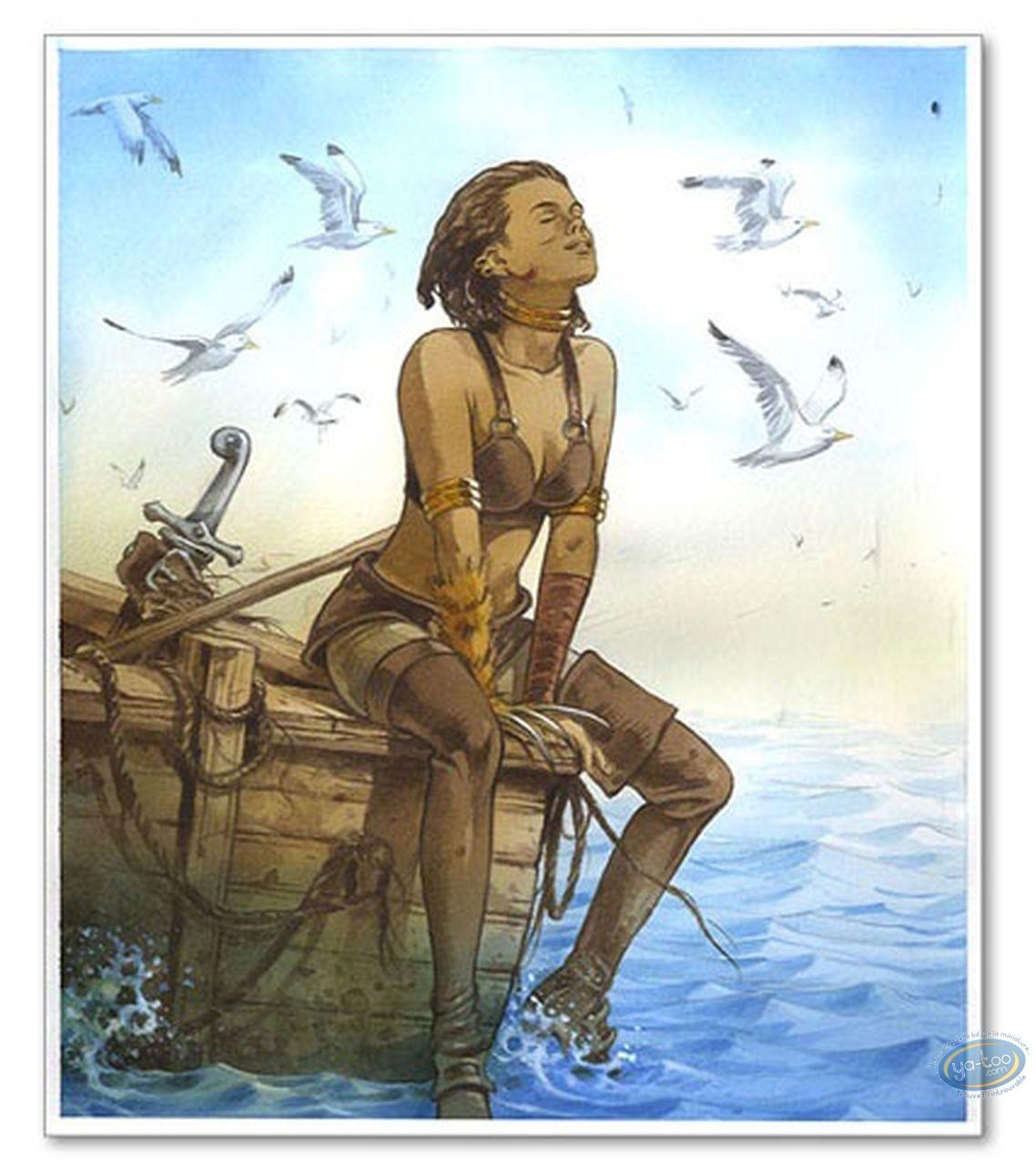 Ex-libris Offset, Conjuration d'Opale (La) : Assise les pieds dans l'eau