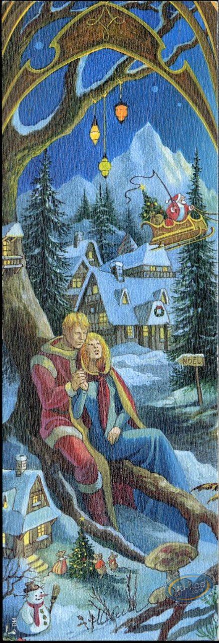 Marque-page offset, 4 Saisons : 4 saisons hiver