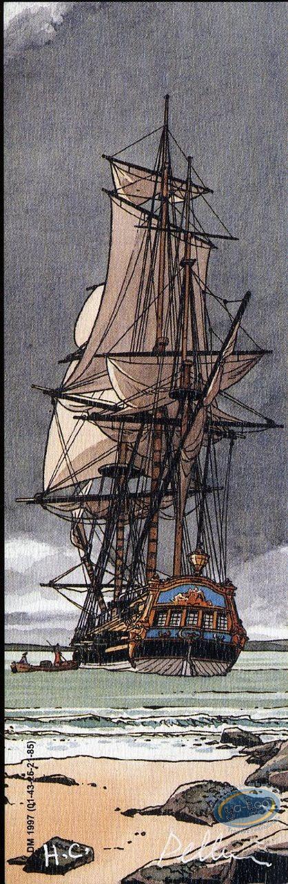 Marque-page offset, Epervier (L') : Bateau