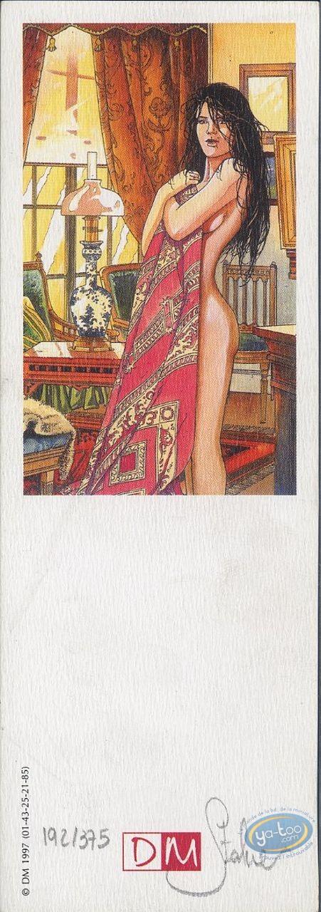 Marque-page offset, Fabien M : Femme