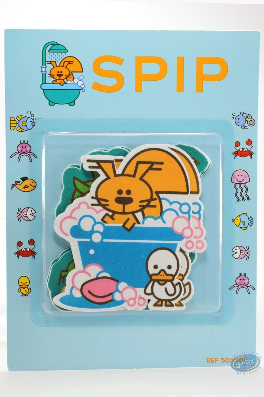 Jouet, Spip : Stickers autocollant de salle de bain Spip