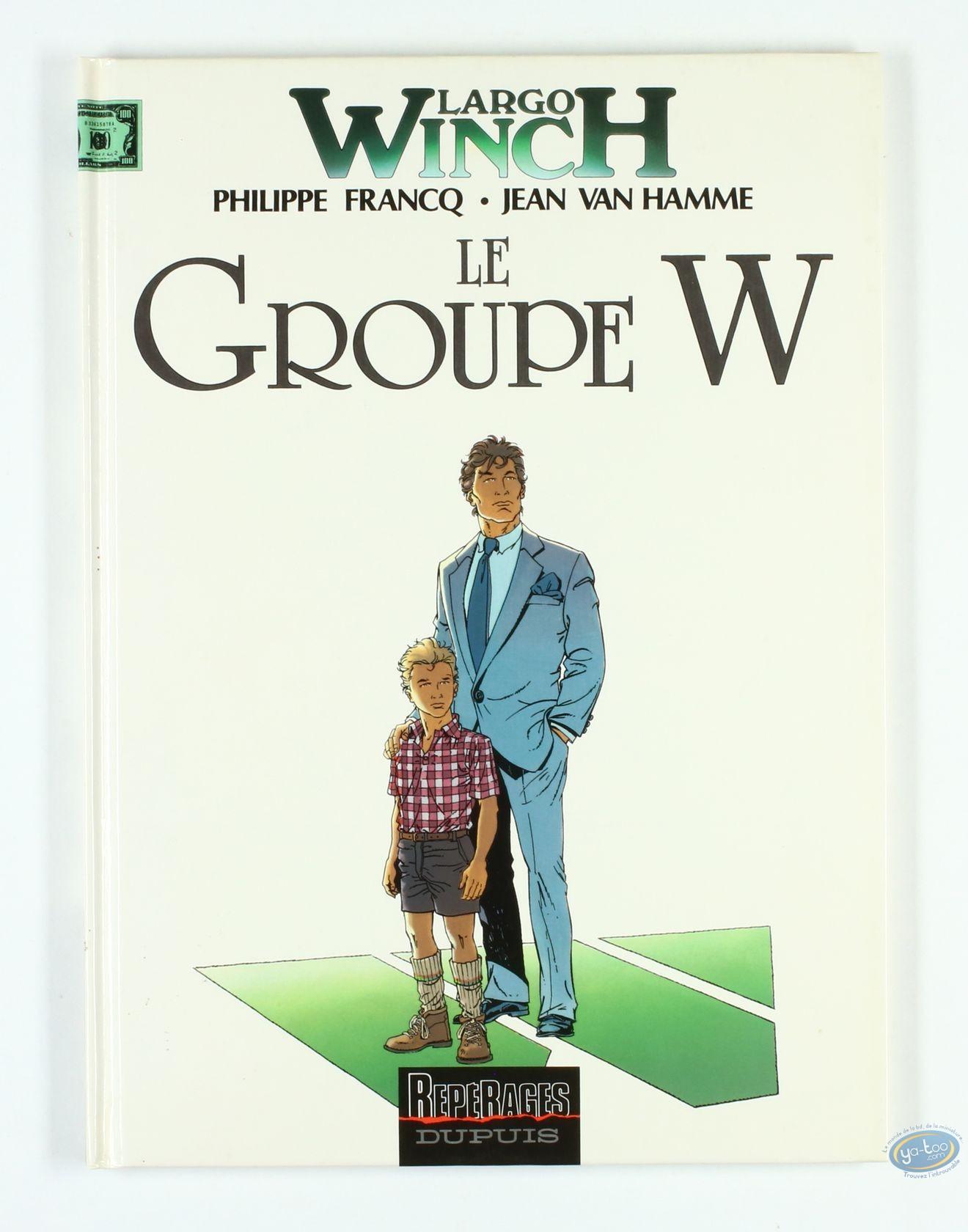 BD cotée, Largo Winch : Le Groupe W