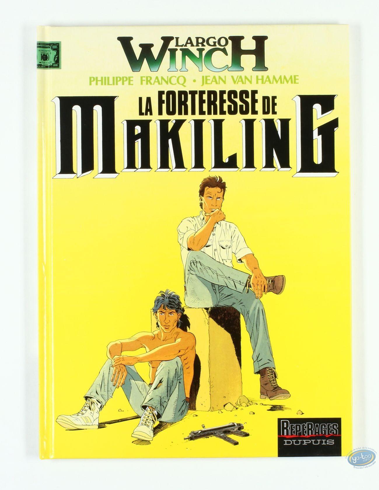 BD cotée, Largo Winch : La Forteresse de Makiling