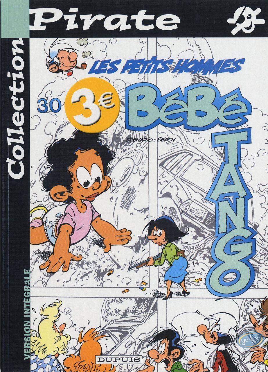 BD prix mini, Petits Hommes (Les) : Les petits hommes, Bébé Tango, Collection Pirate