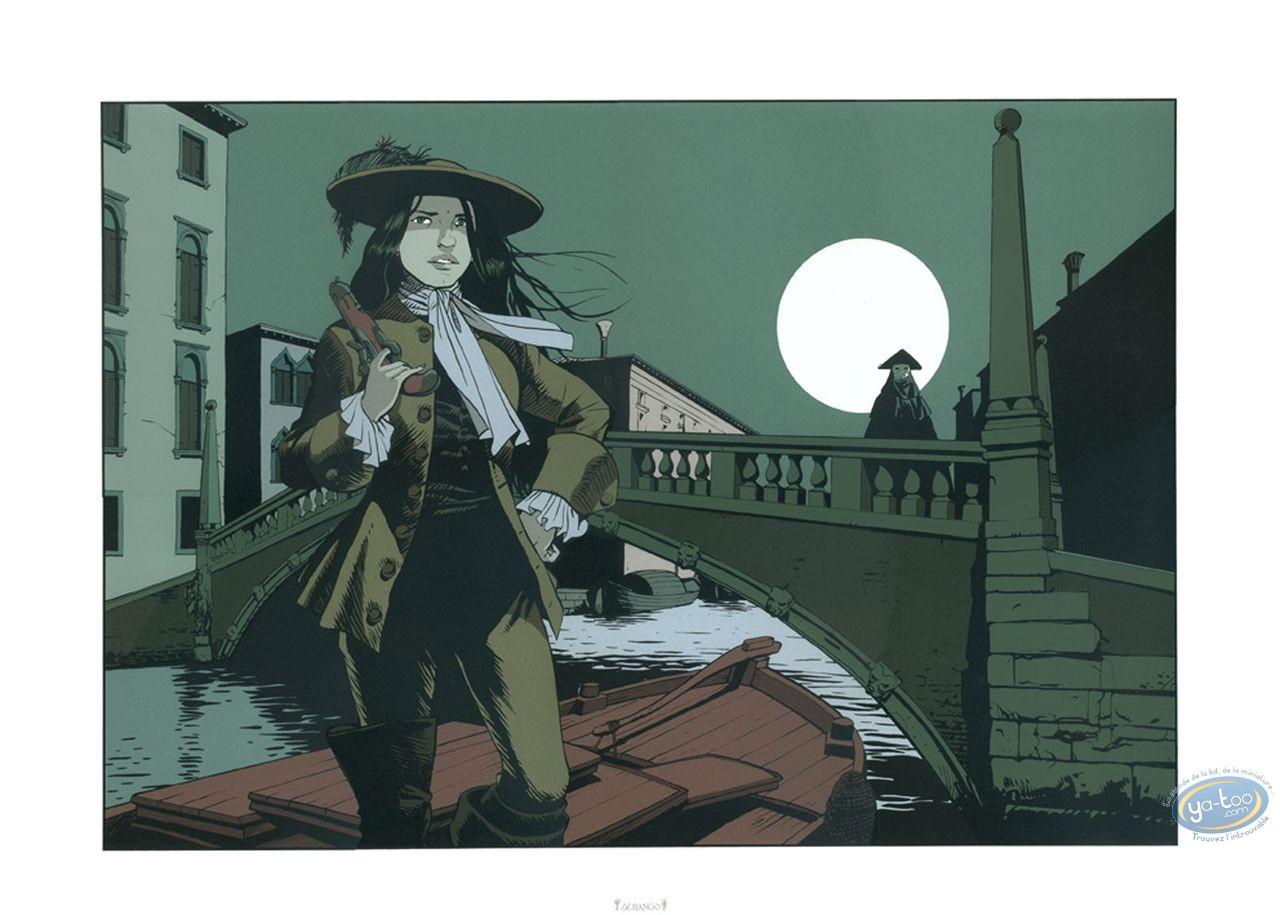 Affiche Sérigraphie, Giacomo C. : Venise