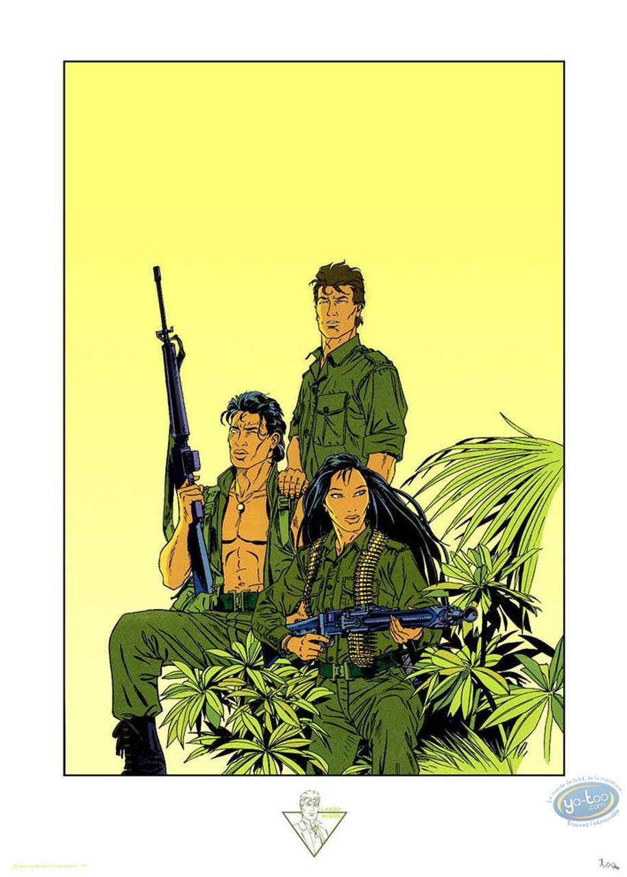Affiche Sérigraphie, Largo Winch : L'heure du Tigre