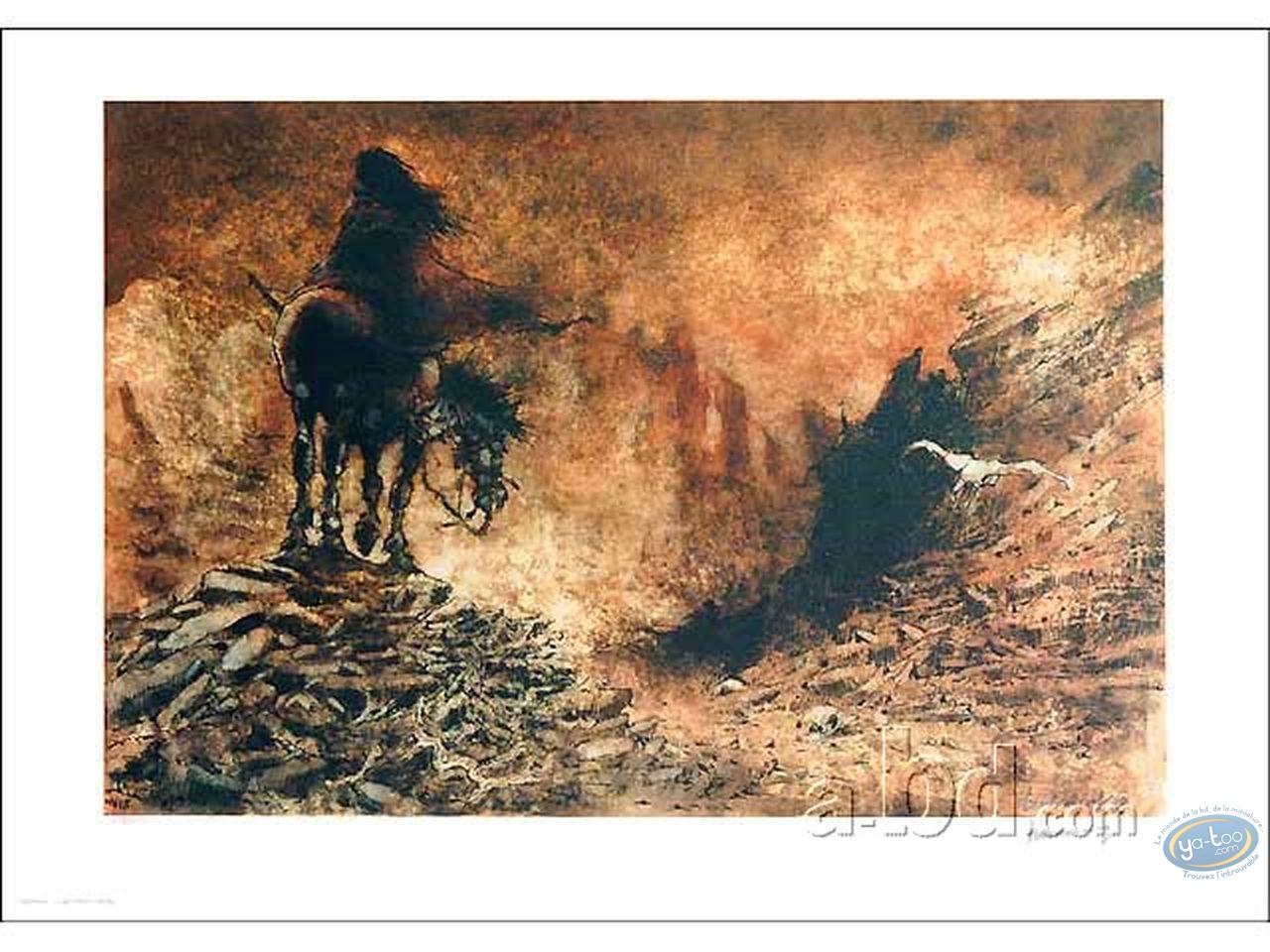 Affiche Offset, Laïyna : A cheval