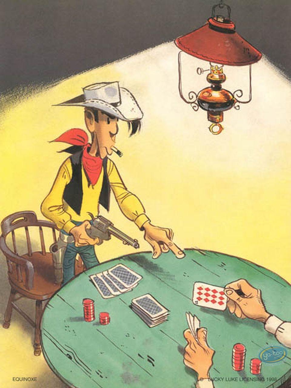 Affiche Offset, Lucky Luke : Poker